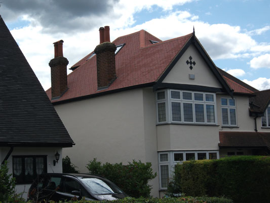New Roof, Red Roof Tile